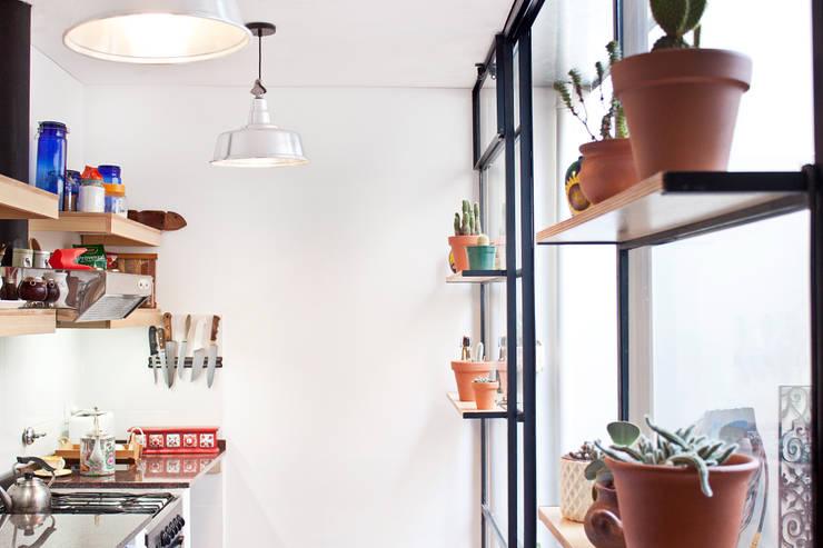 modern Kitchen by CA.ZA