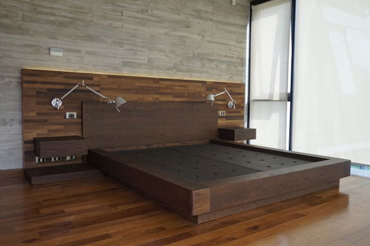 غرفة نوم تنفيذ KRAUSE CHAVARRI