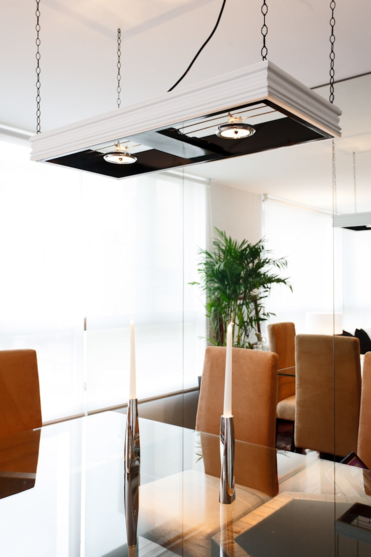 Departamento Doig: Comedores de estilo  por Oneto/Sousa Arquitectura Interior, Moderno