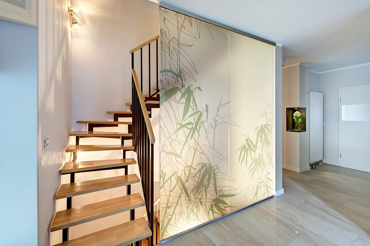 Couloir et hall d'entrée de style  par Innenarchitektin Katrin Reinhold