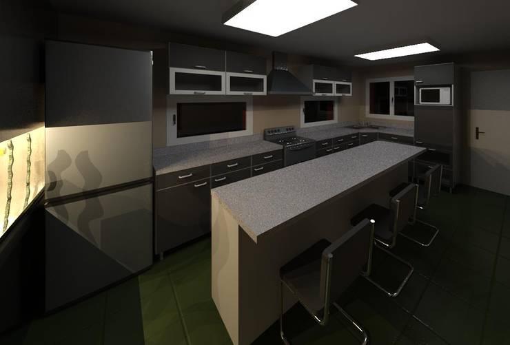 Cozinhas  por MMO Maximiliano José Castrillo, Moderno