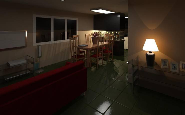 Salas de jantar  por MMO Maximiliano José Castrillo, Moderno