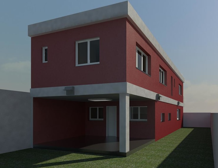 Modern houses by MMO Maximiliano José Castrillo Modern