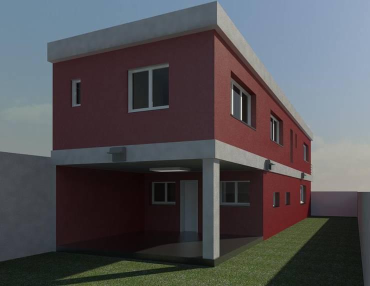 Casas  por MMO Maximiliano José Castrillo, Moderno