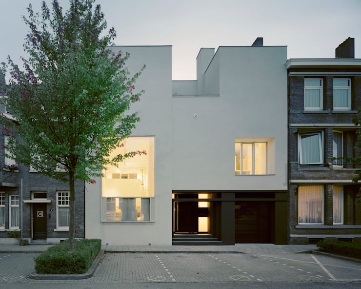 Woonhuis Wijnhoven - Beijnsberger:  Huizen door bv Mathieu Bruls architect