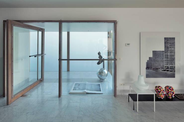 Woonhuis Aramislaan:  Ramen door bv Mathieu Bruls architect