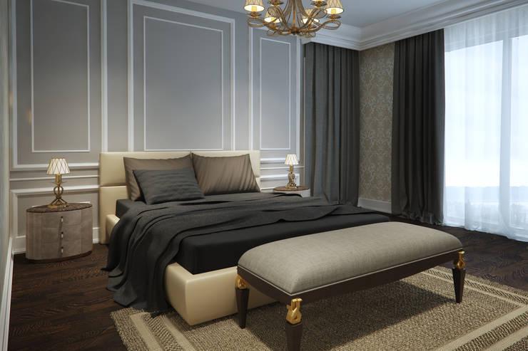 Projekty,  Sypialnia zaprojektowane przez yücel partners