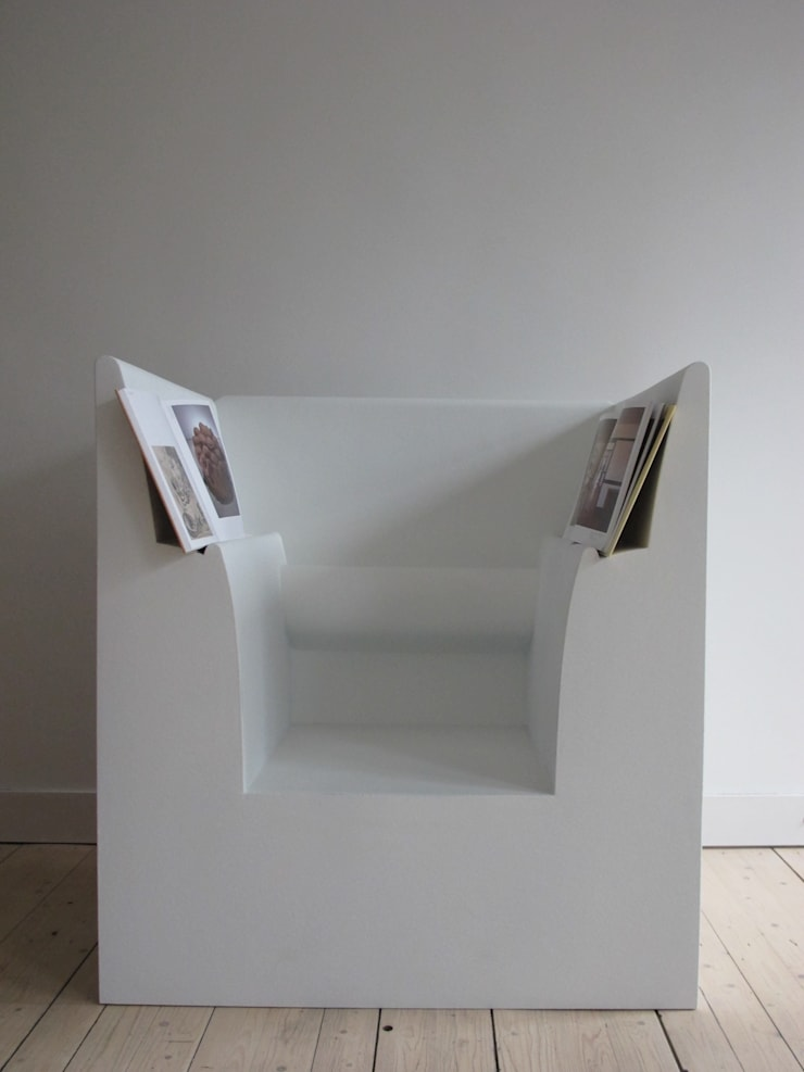 ReadingChair:  Kunst  door bv Mathieu Bruls architect