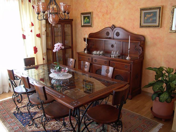 Dining room تنفيذ Decoración Andalusí