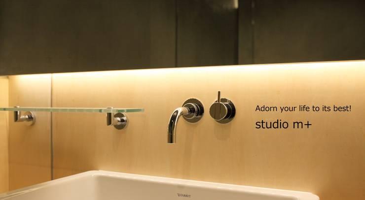 Bathroom by studio m+ by masato fujii