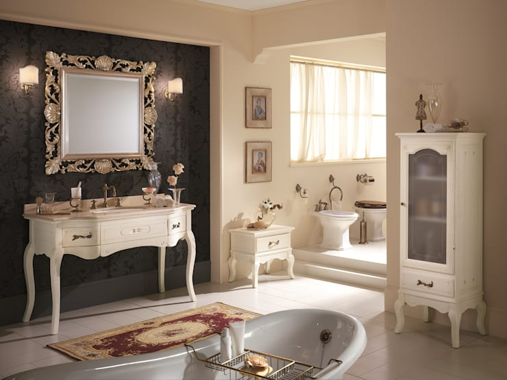 classic Bathroom تنفيذ BAGNO PIU' ITALIA