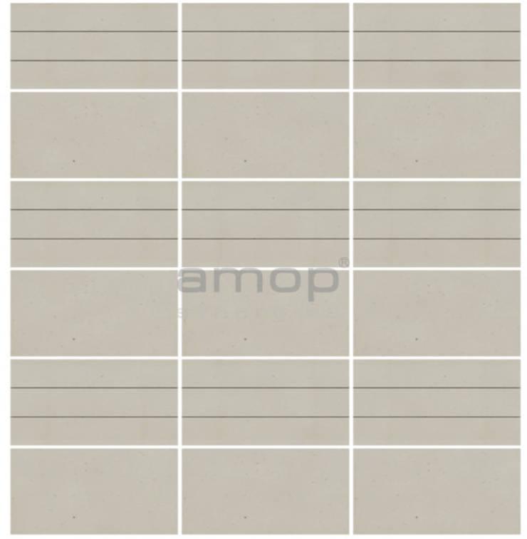 Multi-Tira , Branco Dunas Desbastado, s/Alheta: Paredes  por Amop