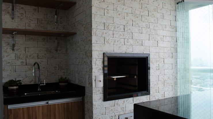 Terrazas de estilo  por MEM Arquitetura
