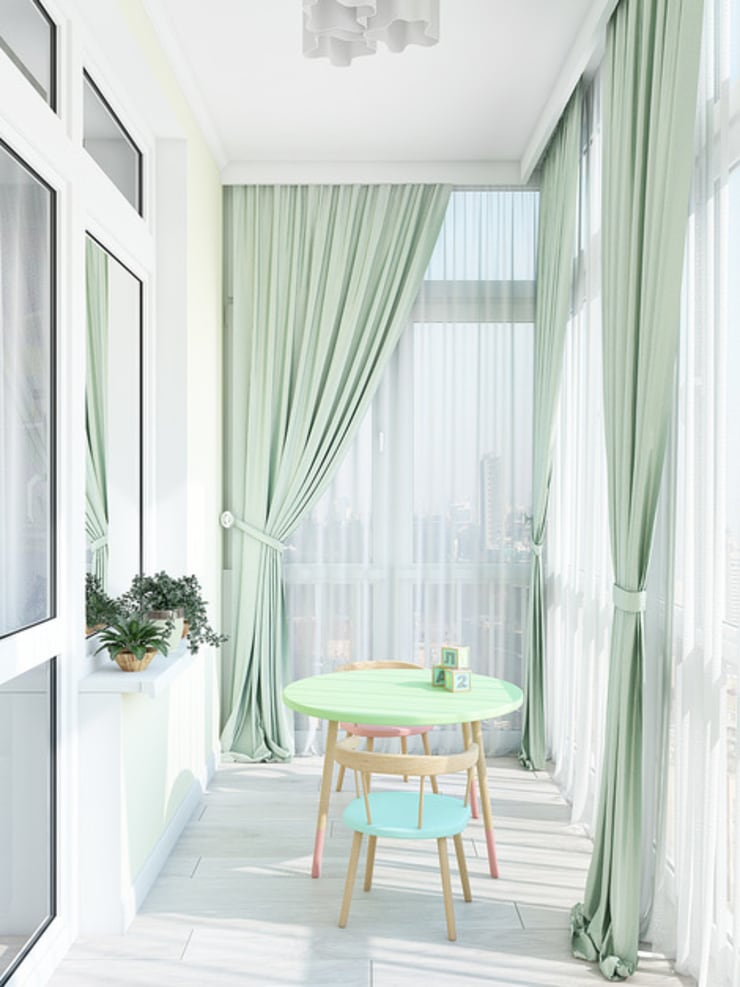 Terrace by Tatiana Zaitseva Design Studio, Classic