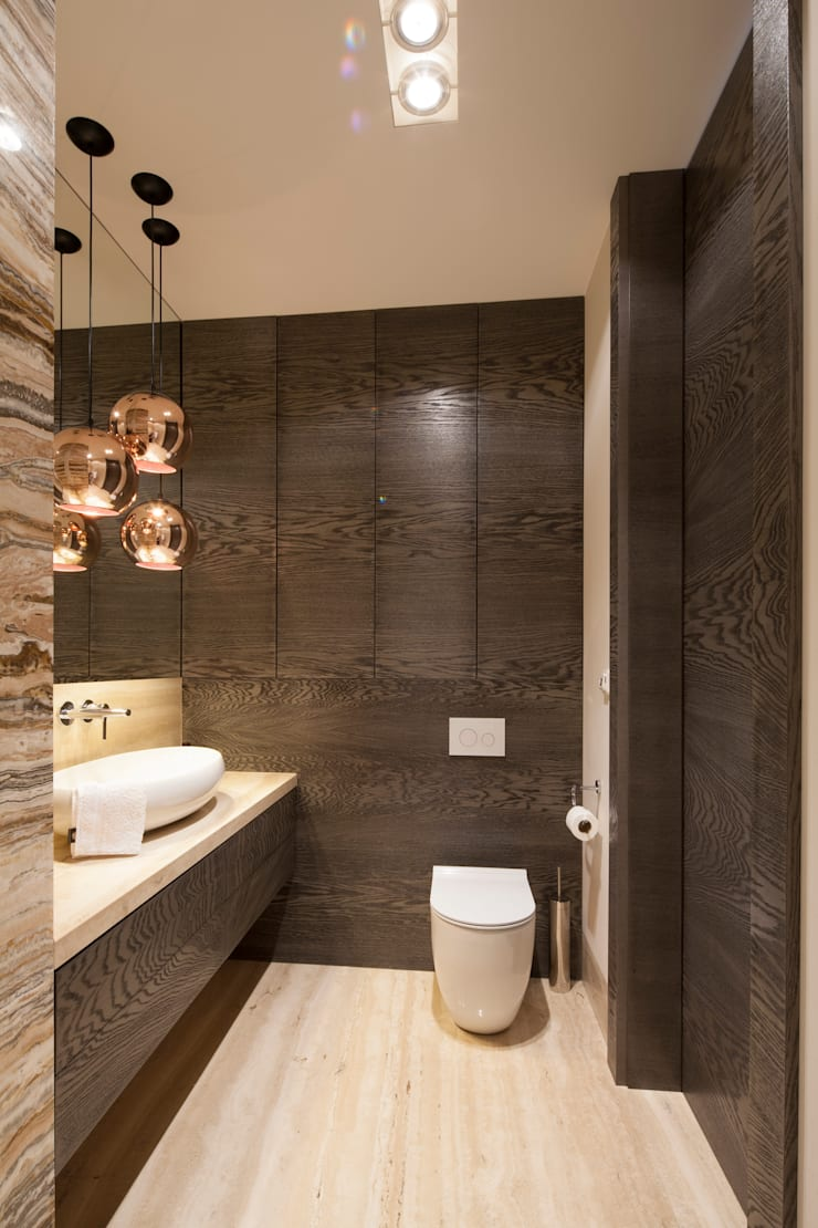 MISTYCZNA PODRÓŻ: styl , w kategorii Łazienka zaprojektowany przez Ludwinowska Studio Architektury