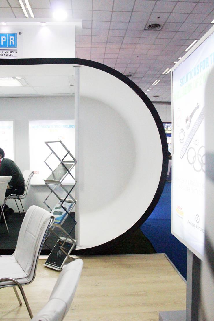 Exhibition Pavillion:  Exhibition centres by Myspace Architects