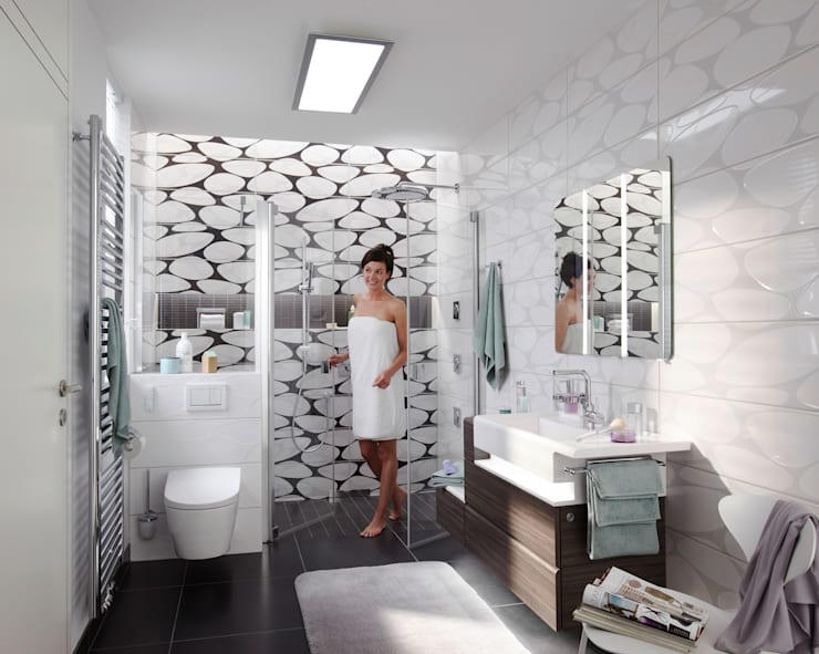 Geberit: Ванная комната в . Автор – BlueResponsibility