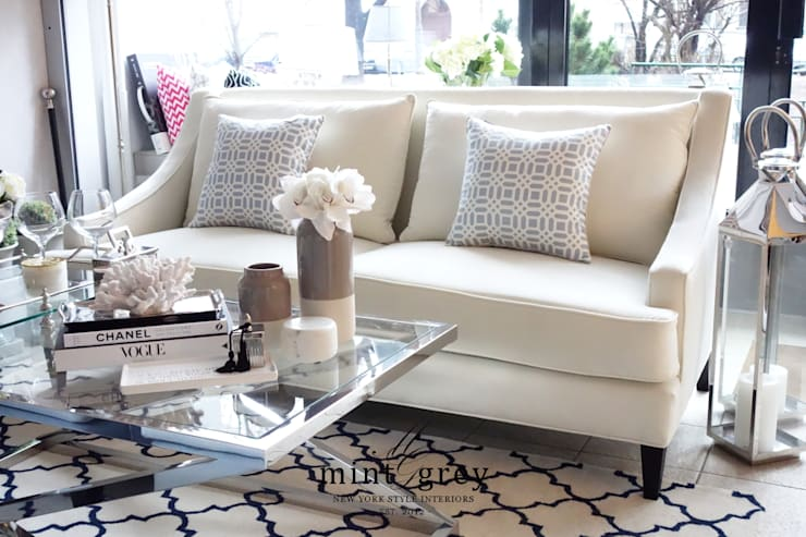 Living room by Mint Grey