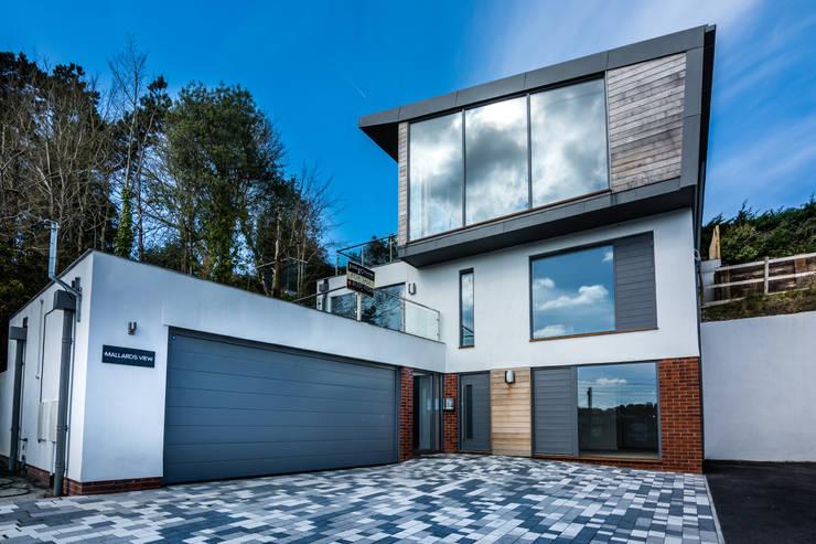 Projekty,  Domy zaprojektowane przez Trewin Design Architects