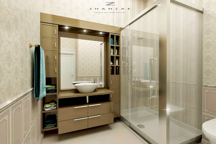 Baños de estilo  por ESKANDER ZHANZAK