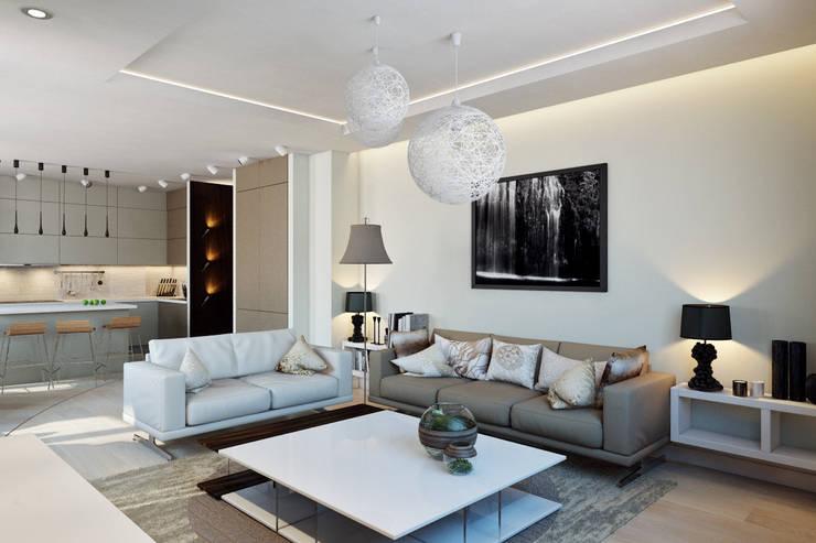 Living room by Design Studio Details, Scandinavian