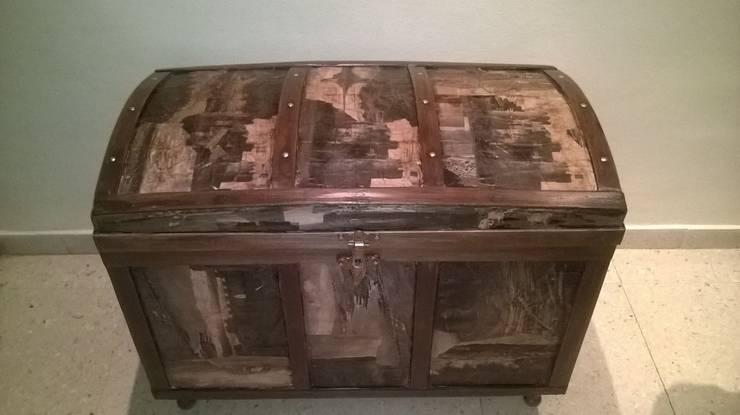 Restauracion De Baules Antiguos By Tallaydecora Homify - Baules-antiguos