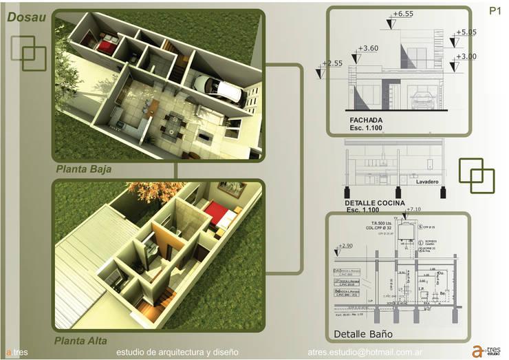 Projekty,   zaprojektowane przez A TRES ESTUDIO