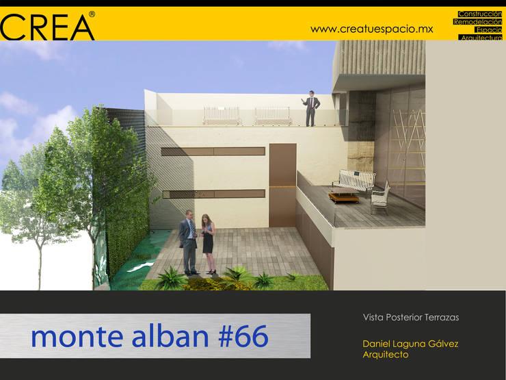 Monte Albán #66: Terrazas de estilo  por CREATUESPACIO.MX
