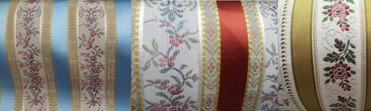 rideau double rideaux store et coussin tissu ameublement style empire d coration de luxe. Black Bedroom Furniture Sets. Home Design Ideas