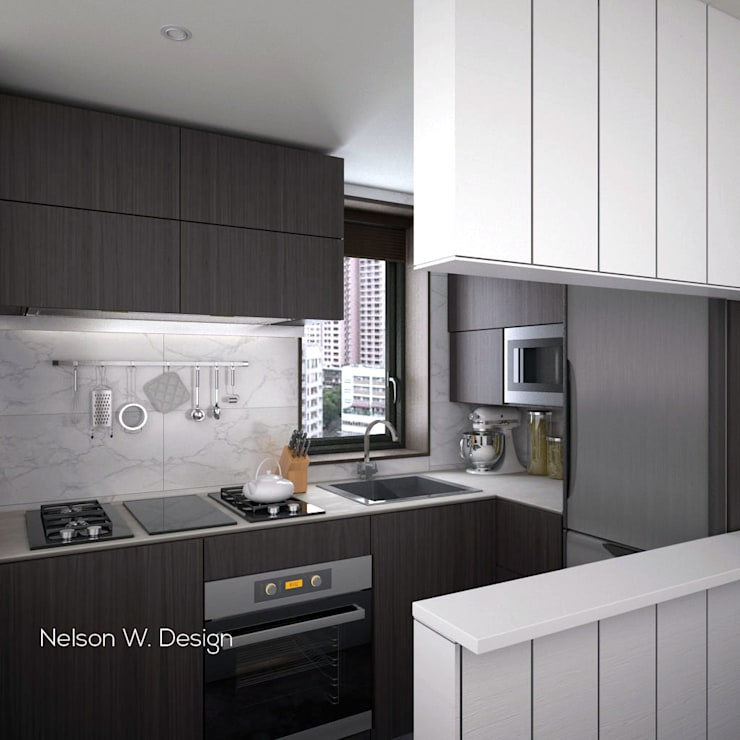 Kitchen by Nelson W Design, Modern