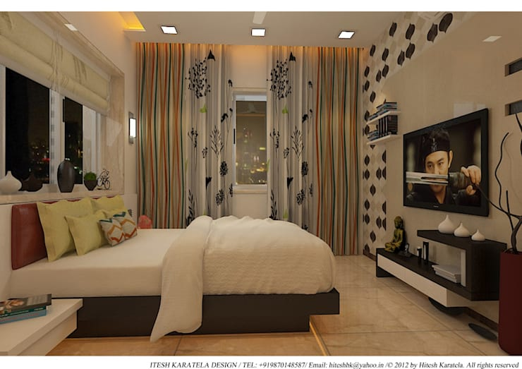 Bedroom by HK ARCHITECTS,