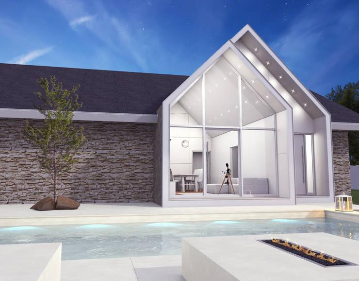 Projeto: Casas modernas por archilabarquitetura
