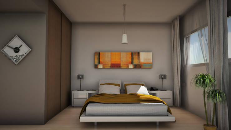 modern Bedroom by GGAL Estudio de Arquitectura