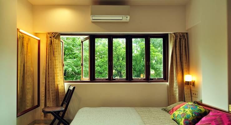 Residence, Powai:  Bedroom by Studio Pomegranate,Modern