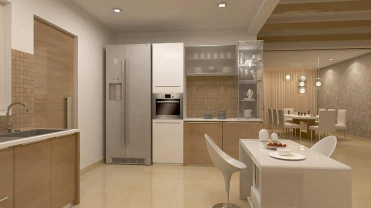 Cocinas de estilo  por De Panache  - Interior Architects