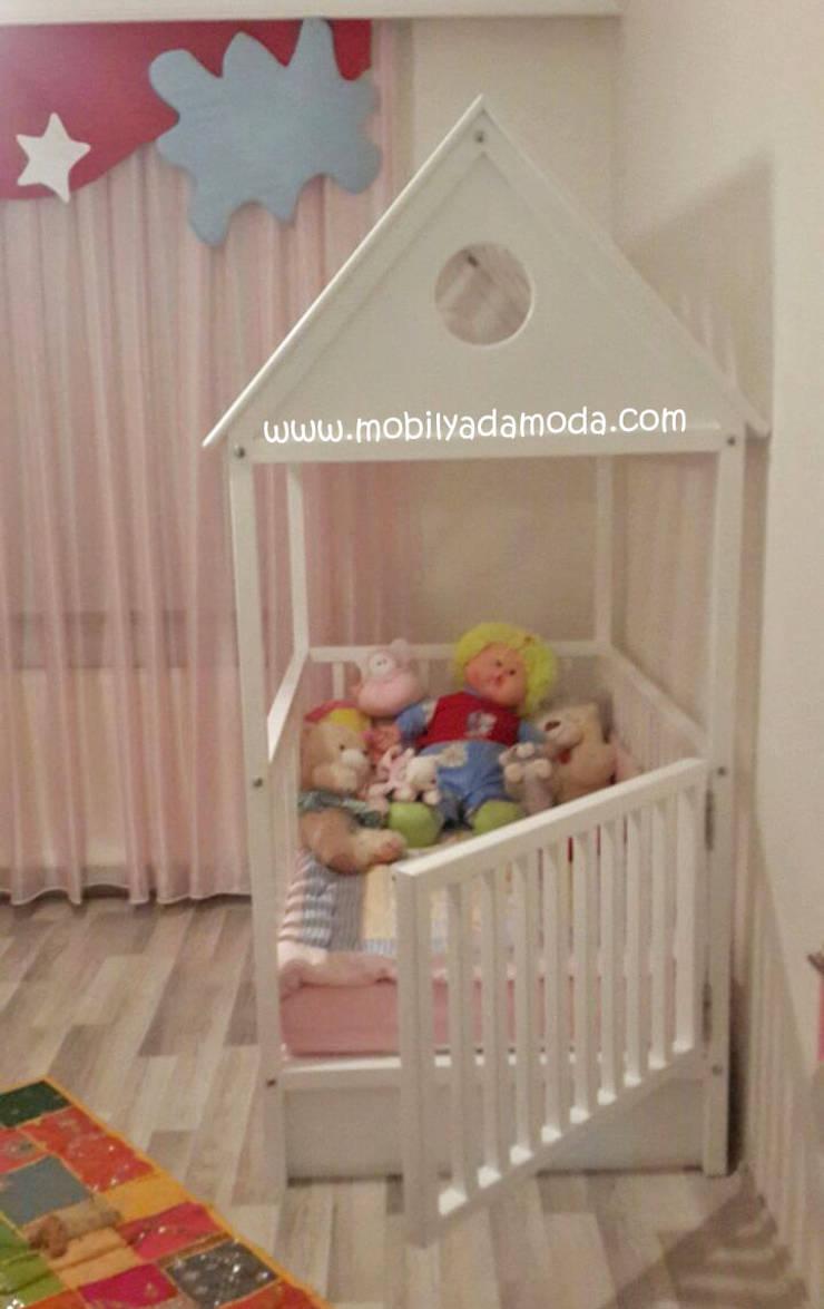 MOBİLYADA MODA  – Montessori Bebek Odası, Vera'nın Odası:  tarz Çocuk Odası, Modern Ahşap Ahşap rengi