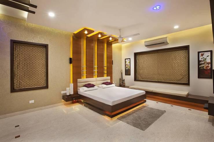 غرفة نوم تنفيذ Ansari Architects