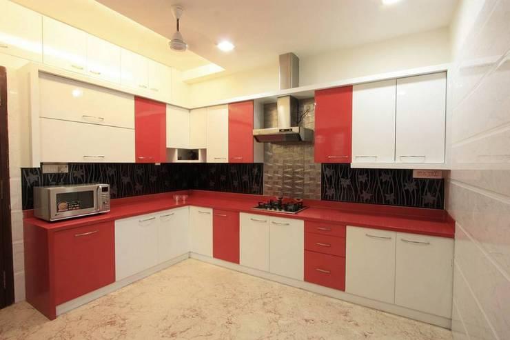 Kitchen:  Kitchen by Ansari Architects