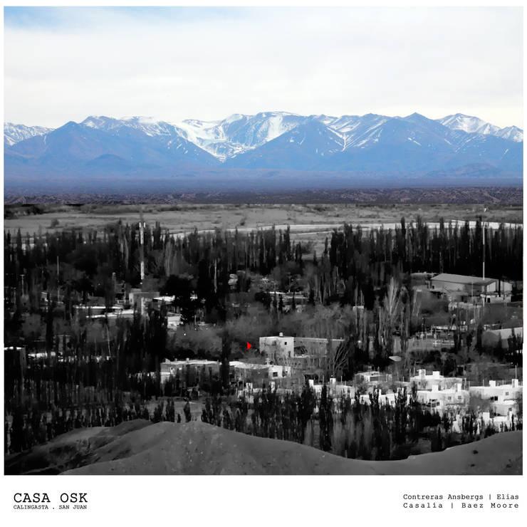 Casa OSK: Casas de estilo  por EN arquitectura