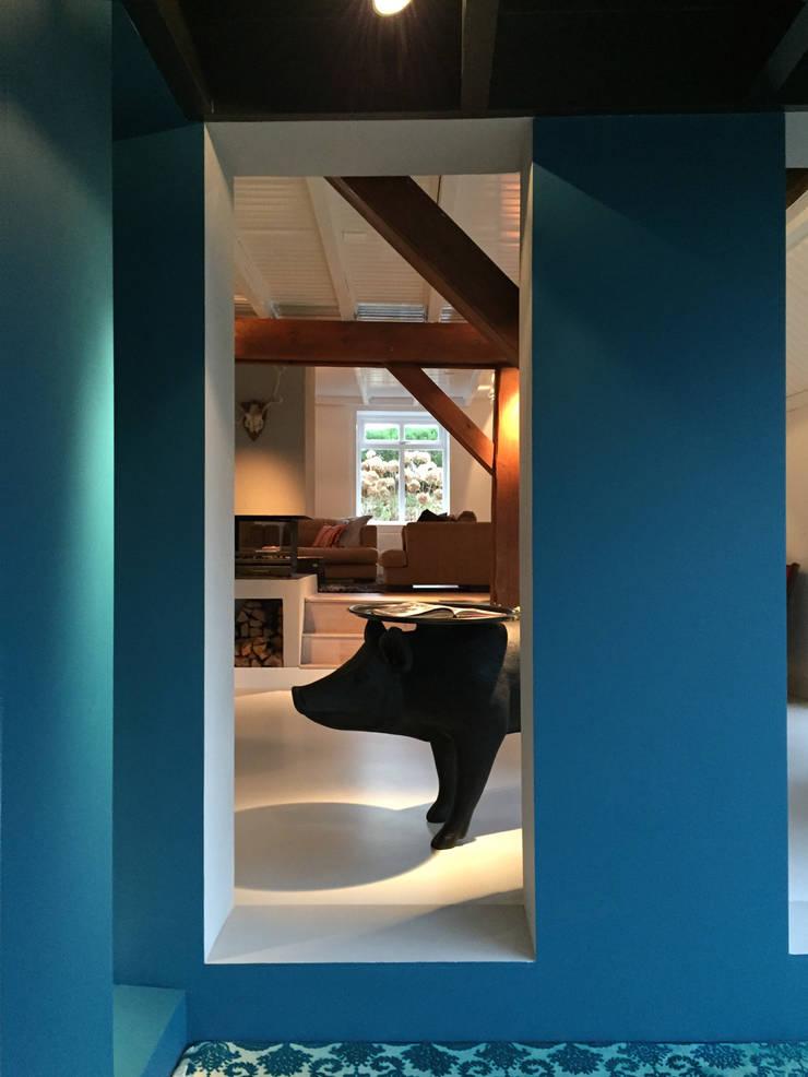 Het Dijkhuis:  Serre door Grego Design Studio, Eclectisch