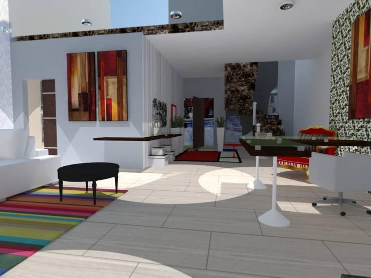 Oficina diseño:  de estilo  por AnnitaBunita.com,