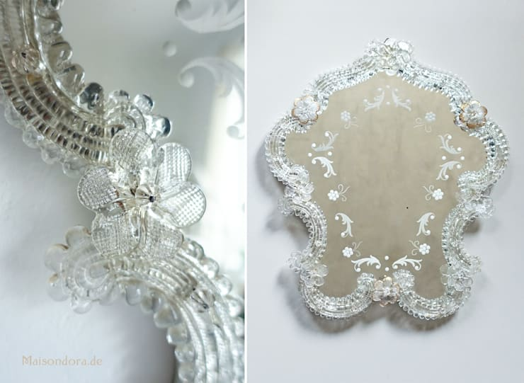 Vintage Badkamer Spiegel : Antike spiegel door maisondora vintage living homify
