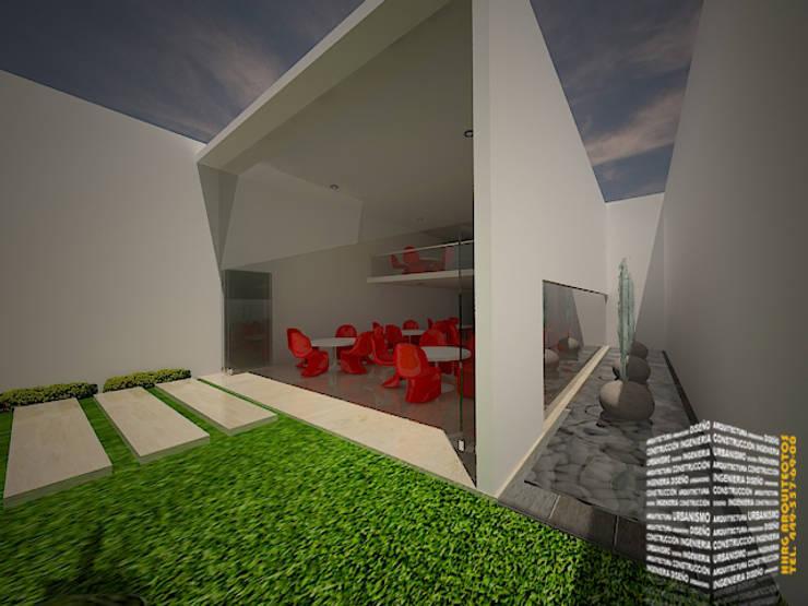 ESPEJO DE AGUA: Casas de estilo  por HHRG ARQUITECTOS