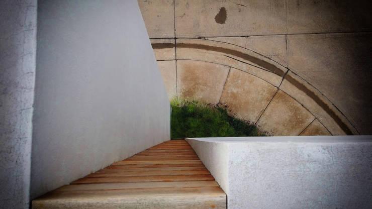Jardin de style  par BAG arquitectura,