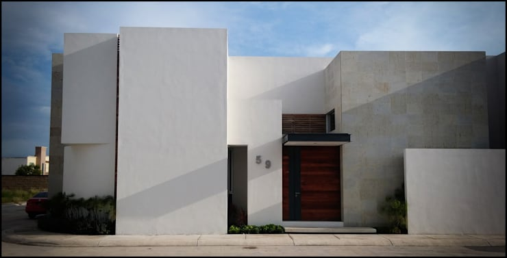 Modern windows & doors by BAG arquitectura Modern Wood Wood effect