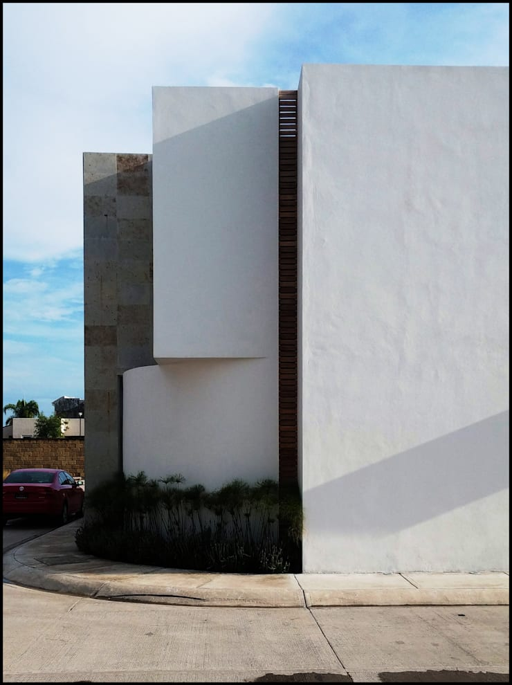 Garden by BAG arquitectura, Modern Wood Wood effect