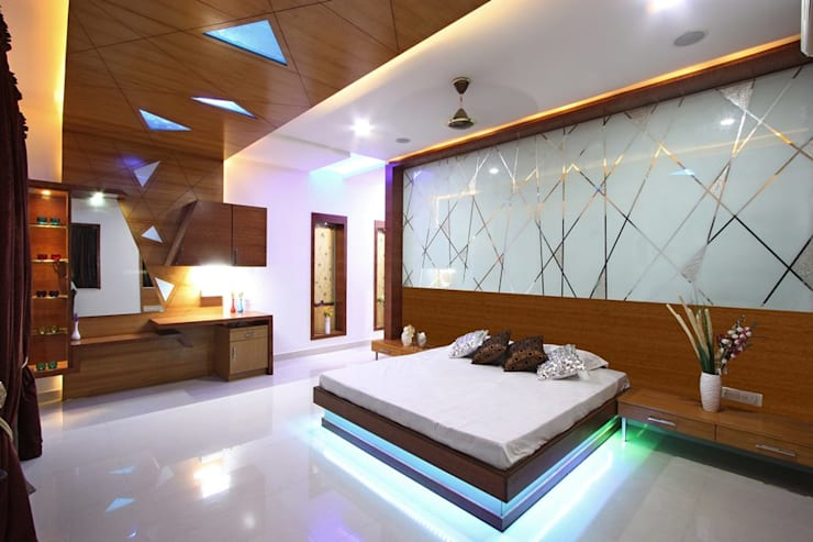 Bedroom:  Bedroom by Ansari Architects