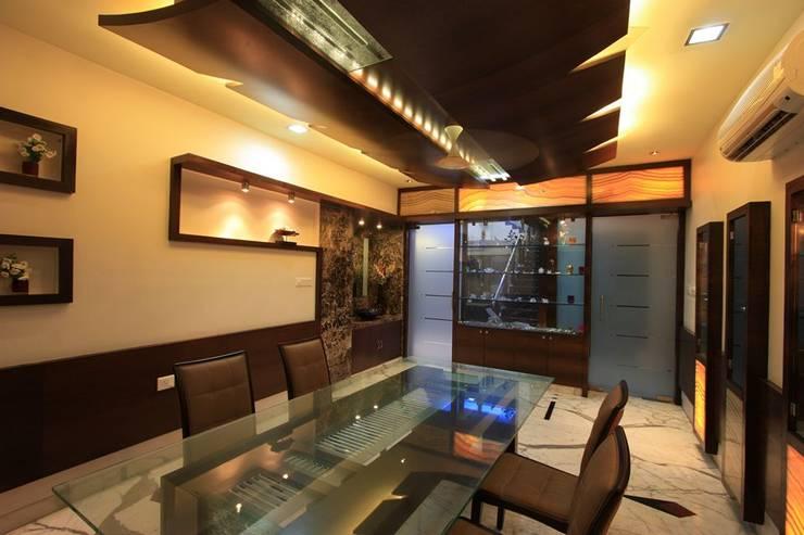 Salle à manger de style  par Ansari Architects