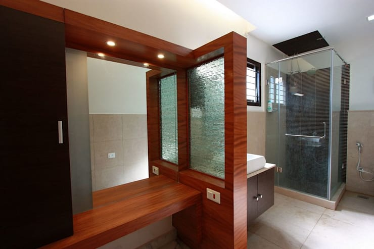 Dressing room by Ansari Architects