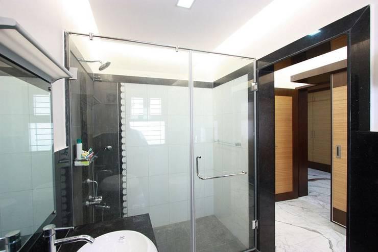 Baños de estilo  por Ansari Architects